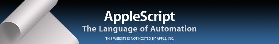 applescript for the internet visual quickstart guide